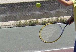 Bild Tennis-Training